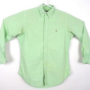 Ralph Lauren Mens Classic Fit Button Down Shirt K1